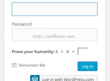 Prove your humanity wordpress Login Issue