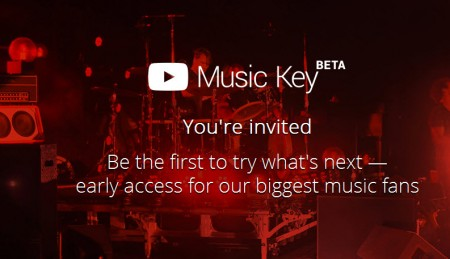 youtube music key beta
