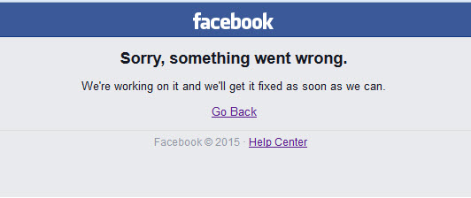 FacebookIsDown