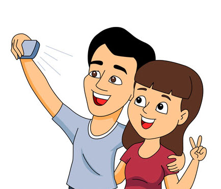 husband-wife-taking-selfie-picture